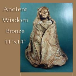 Sculpture of Ancient Wisdom by Jan Hazelton
