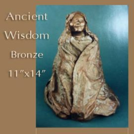 Sculpture of Ancient Wisdom by Jan Hazelton